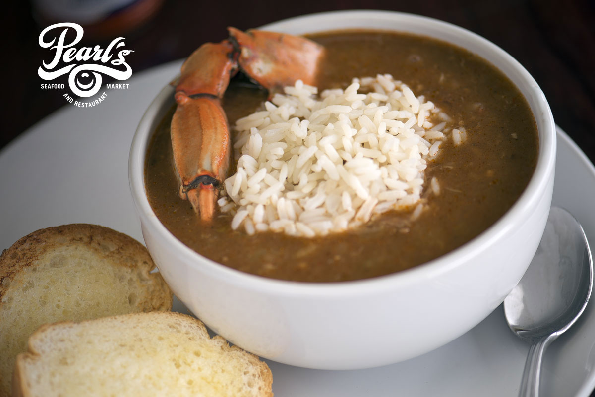 Pearl's Seafood Gumbo, photographed by Cerberus Agency