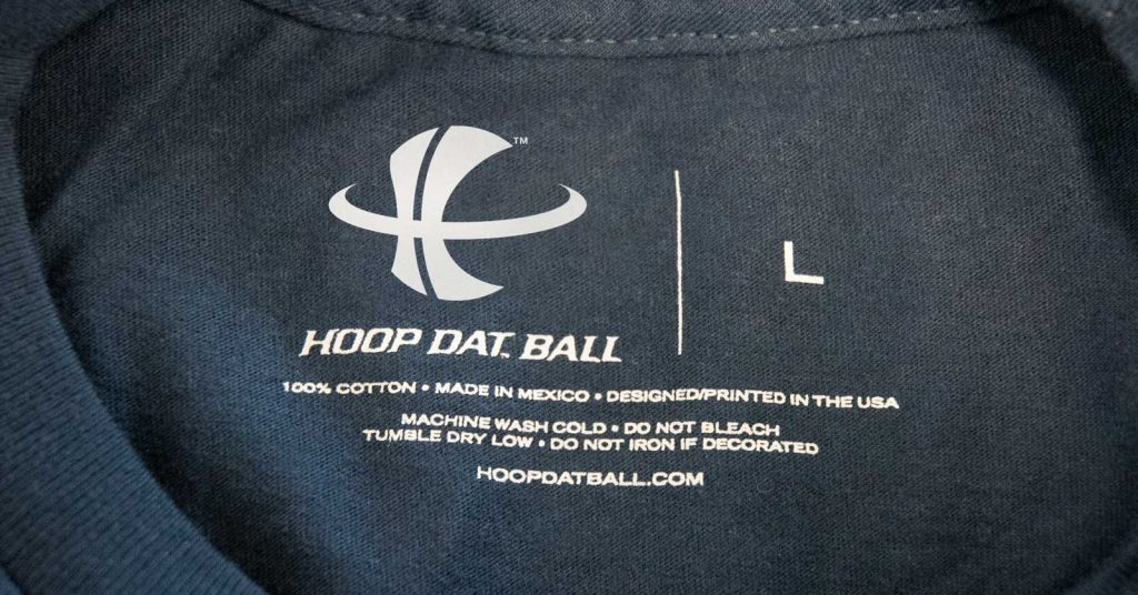 Hoop Dat, sports tshirt designs by Cerberus