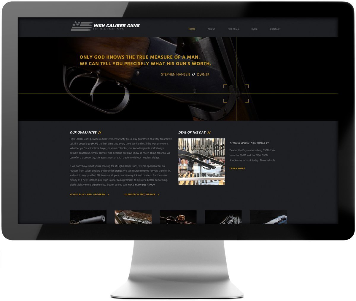 New SEO optimized website developed by Cerberus in New Orleans, LA.
