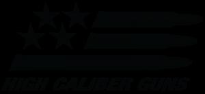 High Caliber Guns new logo design.