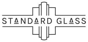 Standard Glass logo designed by Cerberus in New Orleans