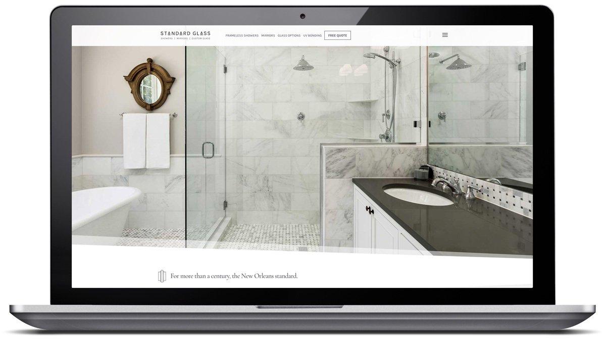 Custom website designed by Cerberus Agency
