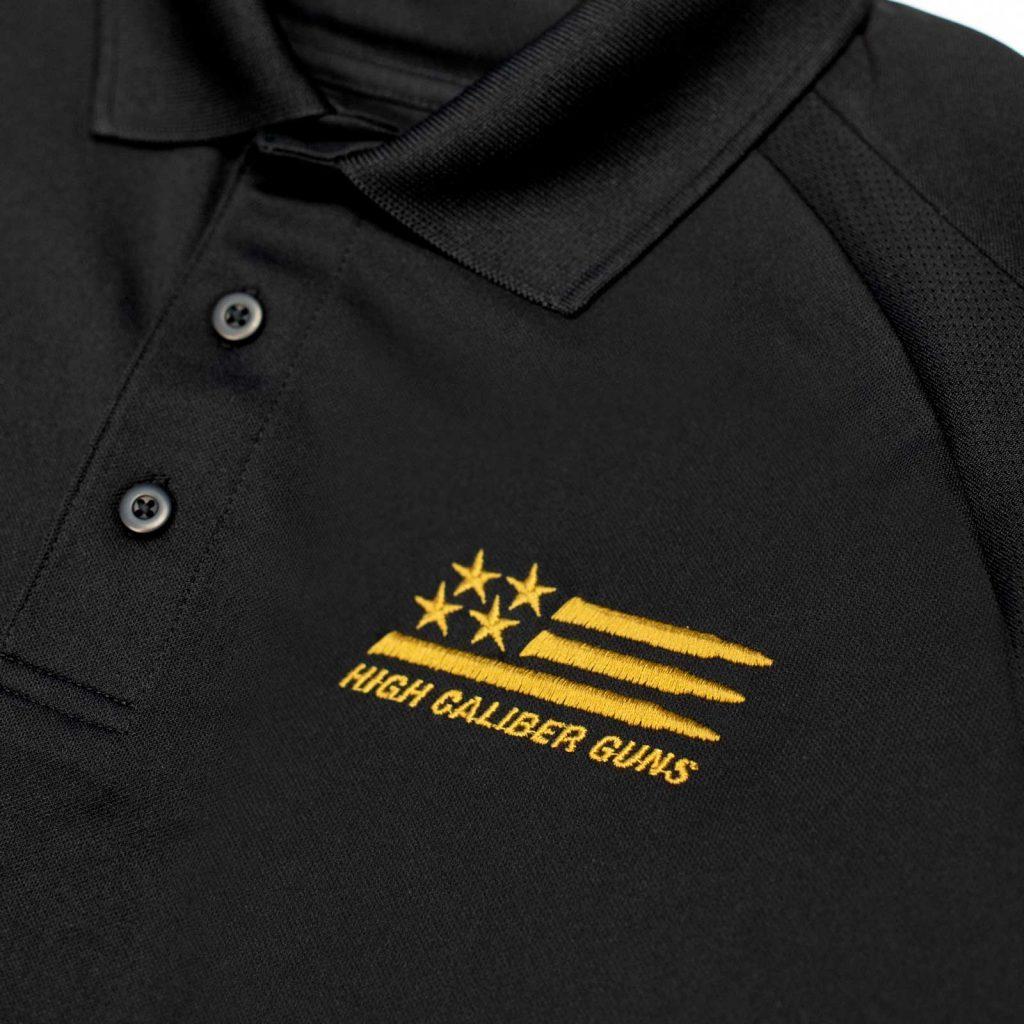 Monogram work shirt design by Cerberus