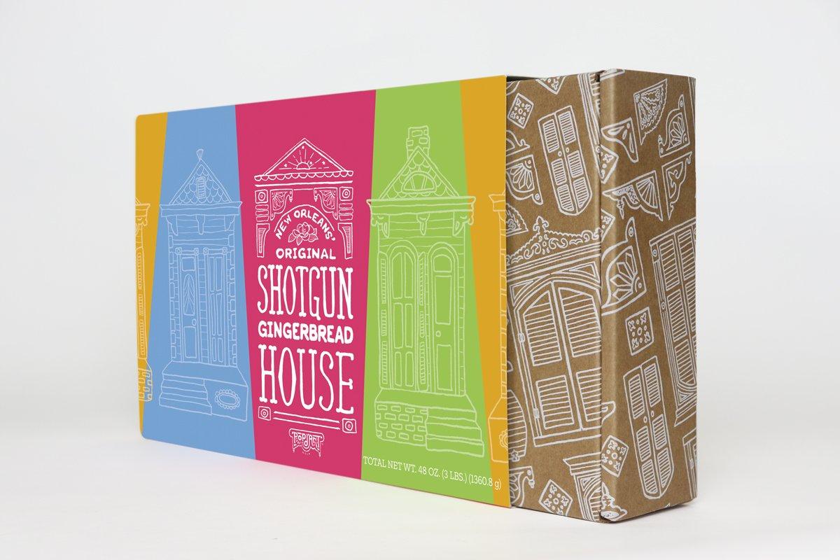 Branded packaging designed by Cerberus Agency in New Orleans, LA.