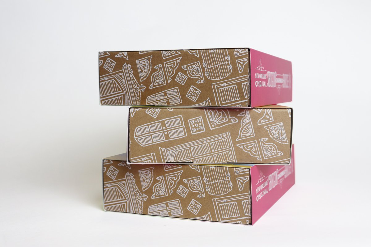 Illustrated packaging design produced by Cerberus.
