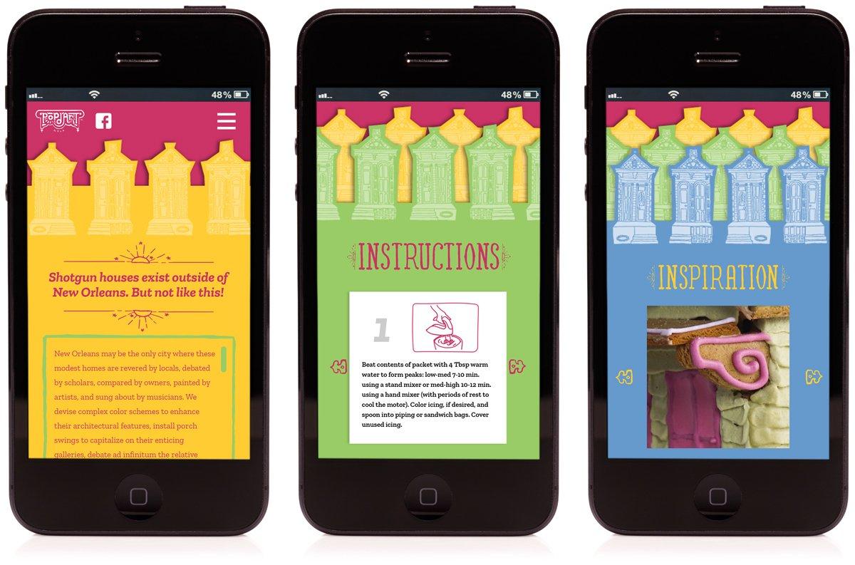 Mobile friendly website design developed by Cerberus.