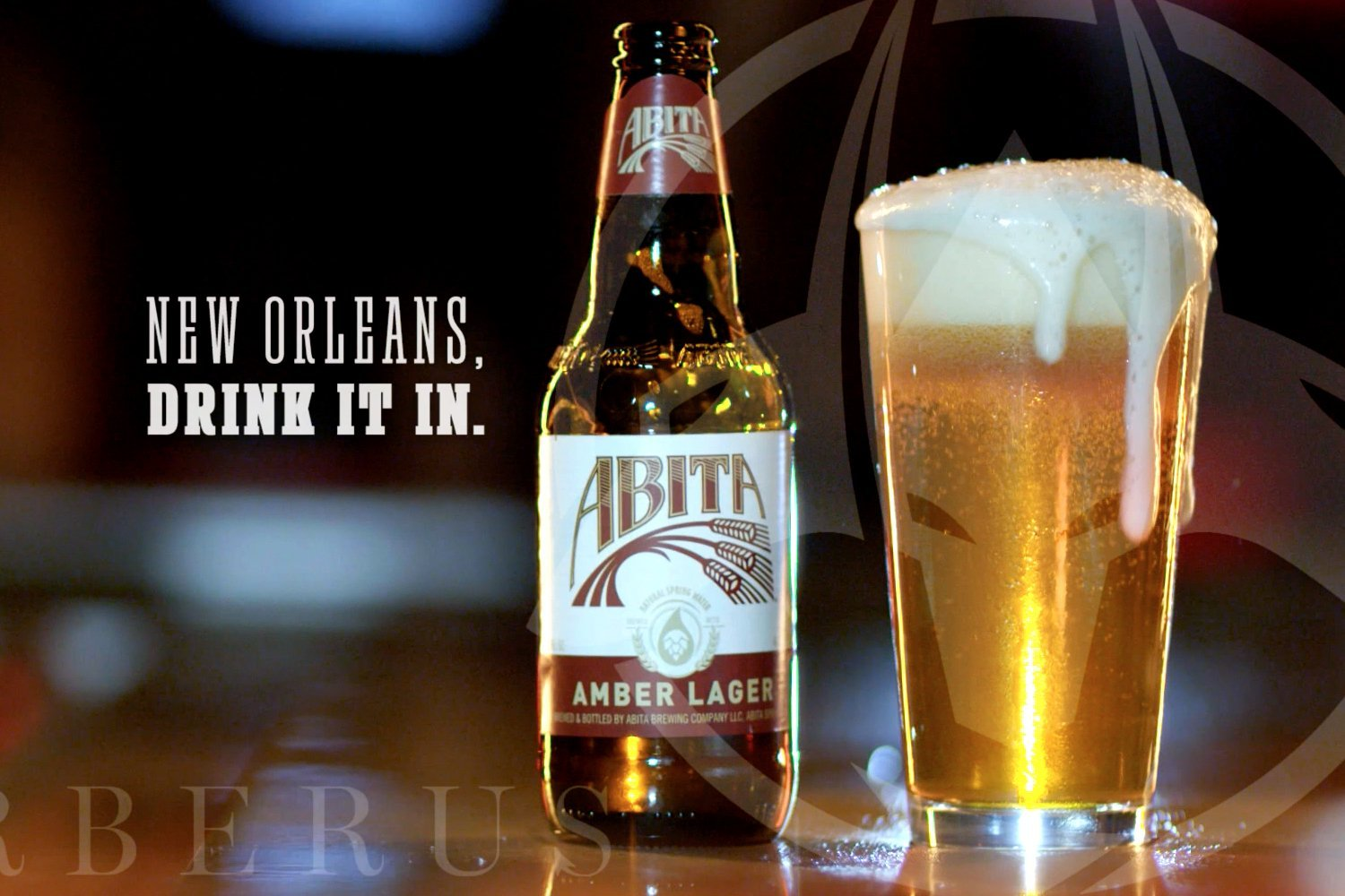 Speculative ad campaign for Abita Amber, directed by Cerberus Agency.