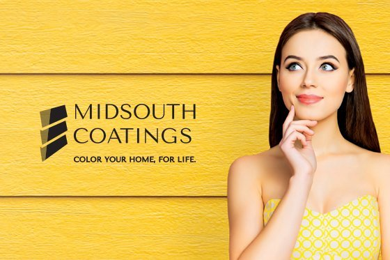 Branding and ad campaign for MidSouth Coatings, designed by Cerberus Agency.