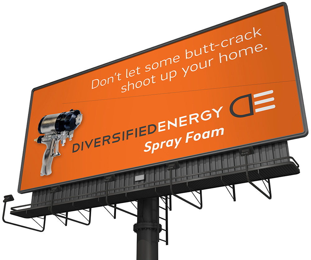 Diversified Energy Billboard by Cerberus, a full-service design, marketing, and web development company in New Orleans.