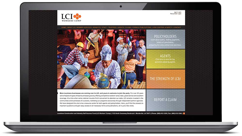 LCI Workers' Comp Website