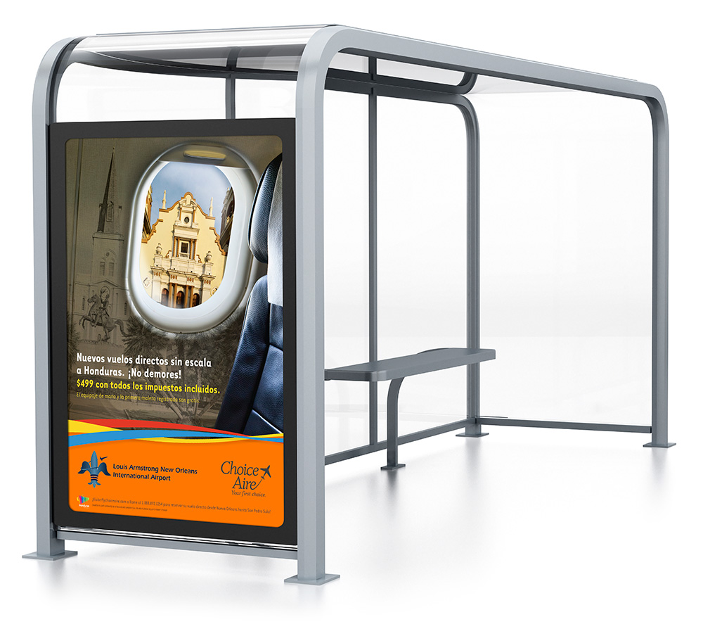 Choice Aire Bus Shelter