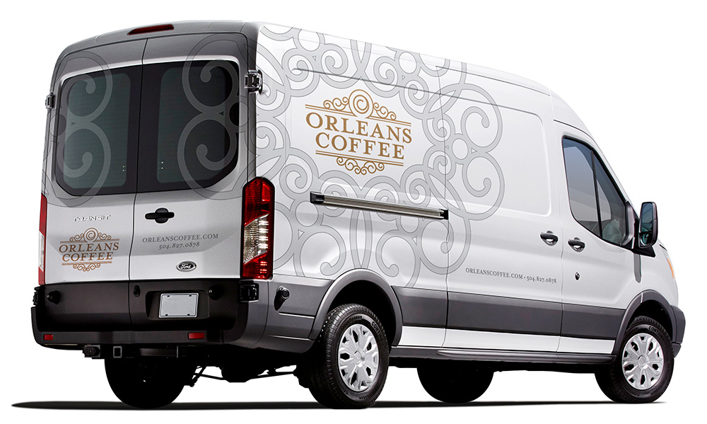 Orleans Coffee Vehicle Design