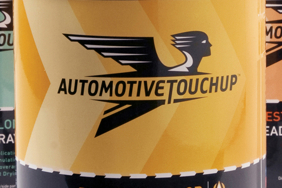 Automotive Touch Up Advertising Campaign and packaging design by Cerberus in New Orleans
